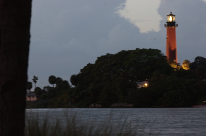 Jupiter Lighthouse in January