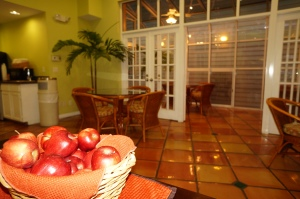 Waterfront Inn reception area