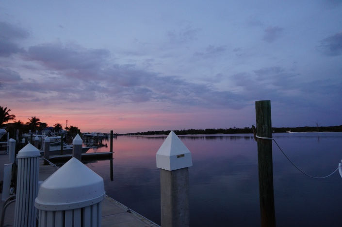 Northern view of the intracoastal - mainland side in Tequesta, FL