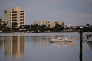 Intracoastal reflections of Jupiter Island
