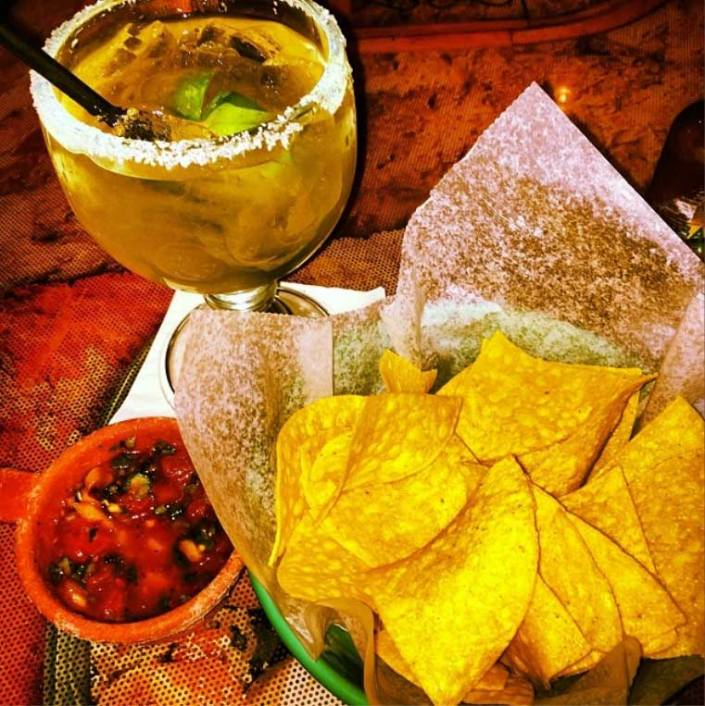 Great Drinks! Free chips and the best salsa in town!